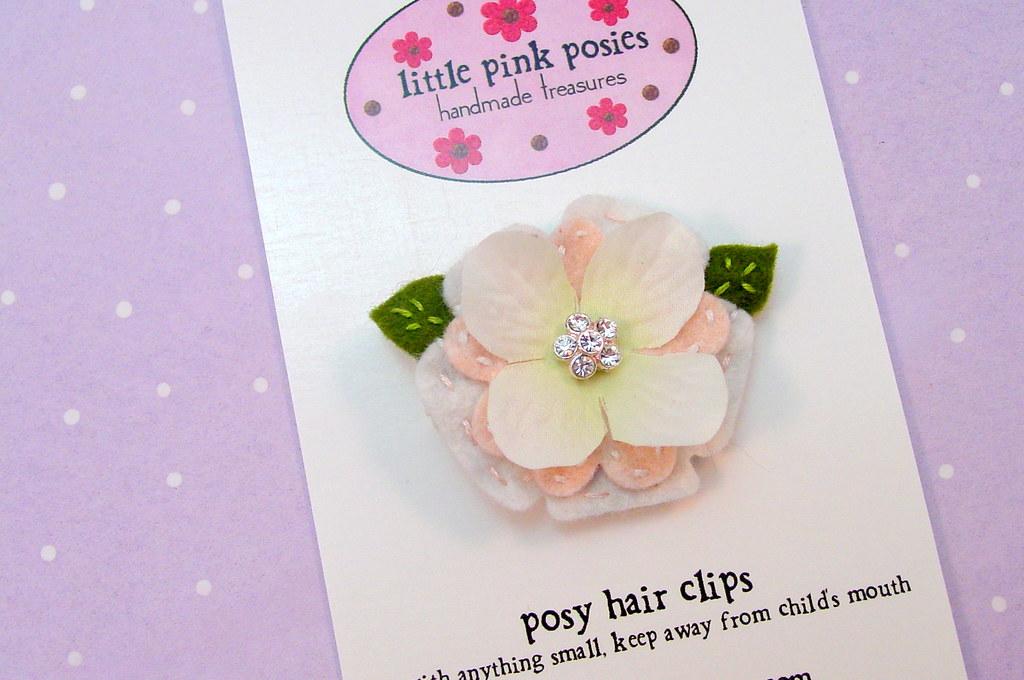 Annabelle Posy Hair Clip