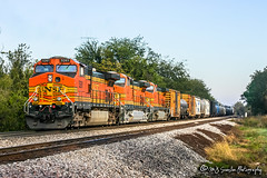 BNSF 5261 | GE C44-9W | BNSF Thayer South Subdivision