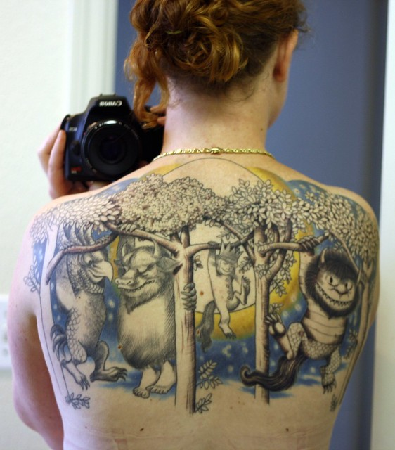 Where the Wild Things Are Tattoo | Flickr - Photo Sharing!