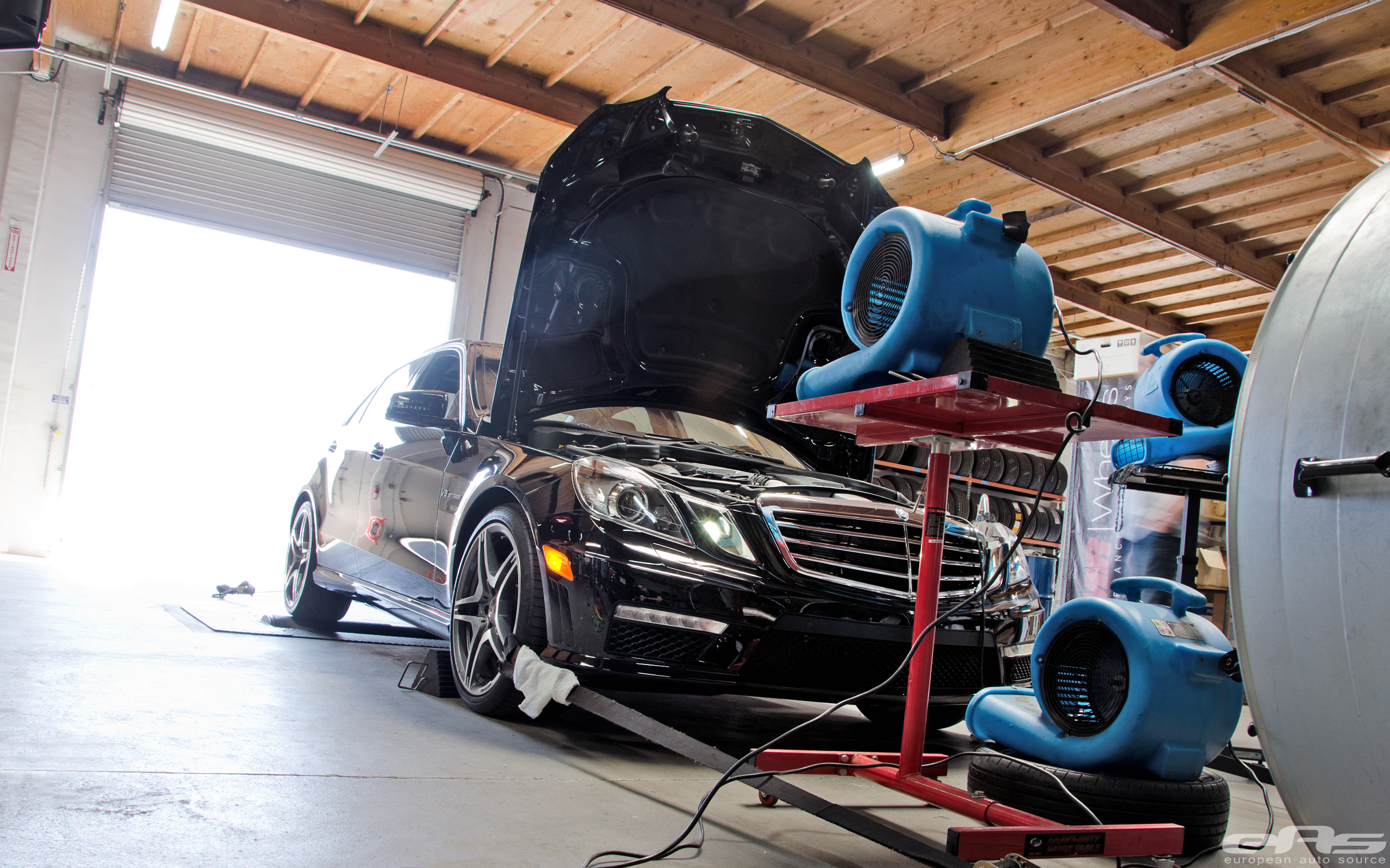 Renntech Tuned E63 AMG on our Dyno & Scales