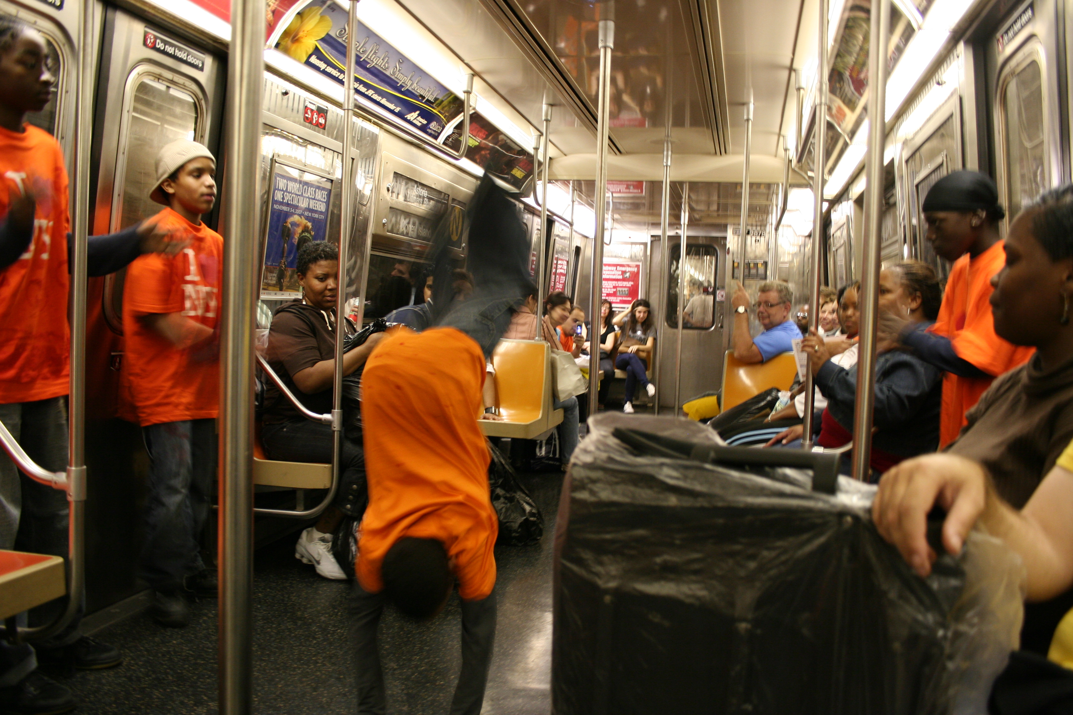 Subway Breakdancing Arrests Up 4700% Since Last Year