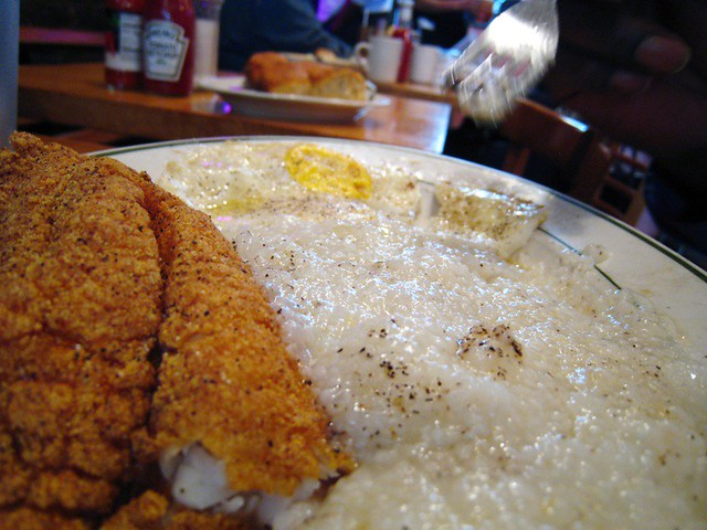 Fish and grits flickr photo sharing for Fish and grits