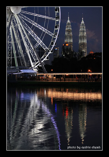 Eye Of Malaysia with KLCC
