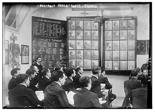 Portrait Parle class, France (LOC)