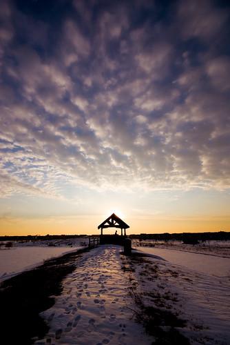 winter sunset snow clouds nikon sigma d200 1020mm 2008 glenview theglen 1020mmf456
