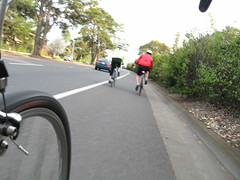 Foothill Expressway cyclists