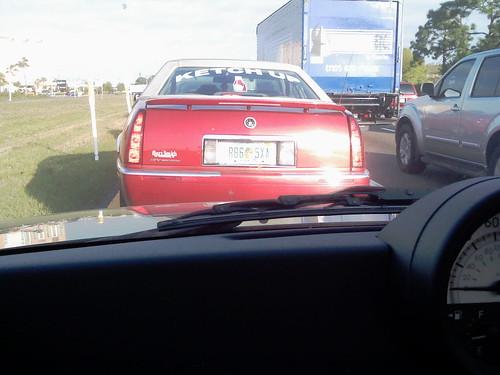 Ketchup car.