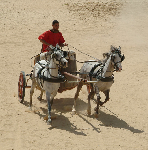 chariot roman