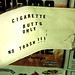 Cigarette Butts Only