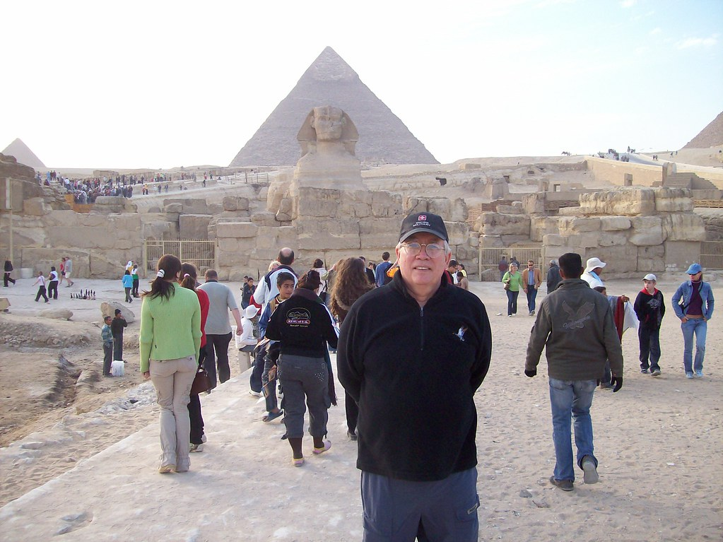 Me In Money Shot at Pyramids