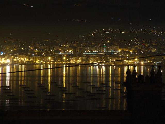 Alli naci, Vigo desde Moaña