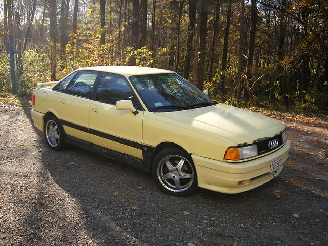 1989 Audi 90 Quattro Front Quarter | Flickr - Photo Sharing!