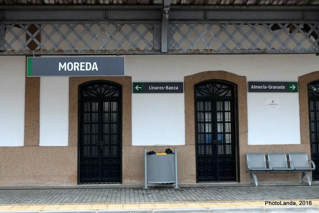 Estación de Moreda (1896)