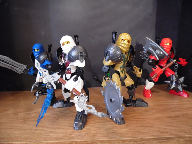 Lego Ninjago Purple Ninja Pictures Bionicle or any other lego