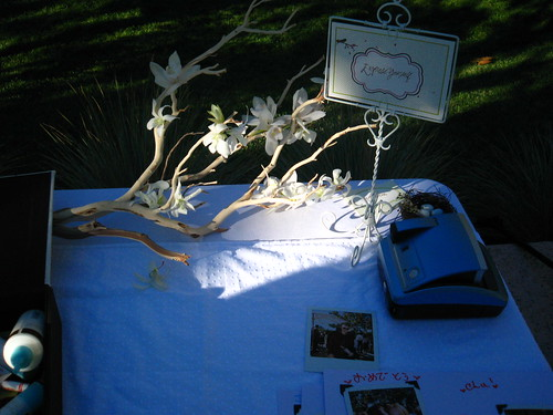 Twigs and string branch centerpieces