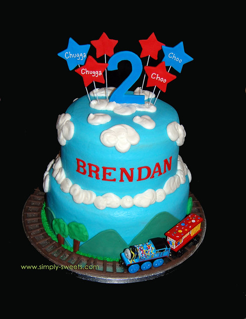 Cake Designs For Second Birthday : photo