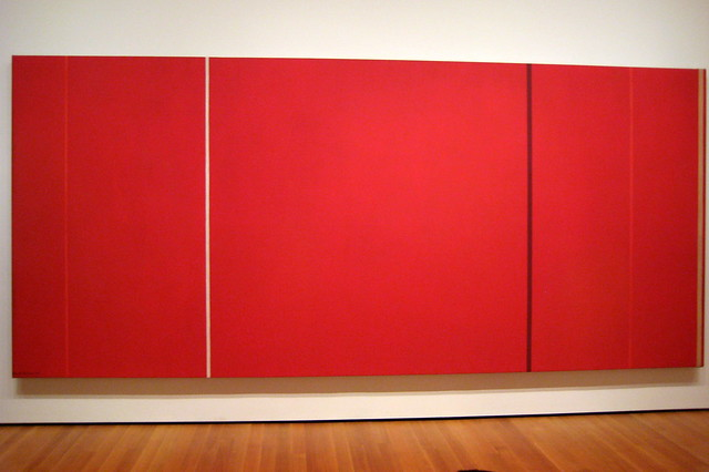 NYC - MoMA: Barnett Newman's Vir Heroicus Sublimis