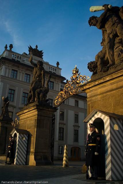 Prague Castle (Pražský hrad) Gate