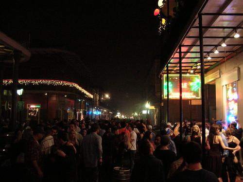 Bourbon Street New Year's Eve