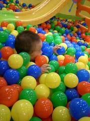 food(0.0), dessert(0.0), balloon(0.0), play(1.0), ball pit(1.0), toy(1.0),