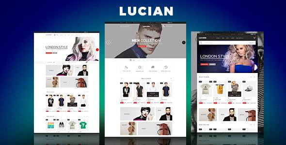 Lucian v1.0 – Responsive Prestashop Theme