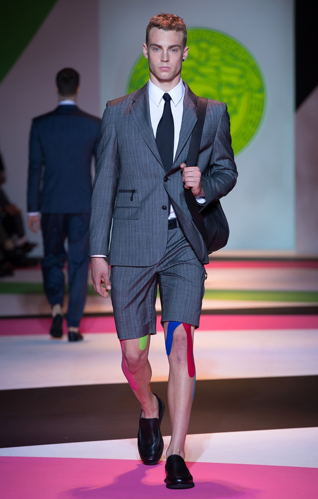 9 VERSACE Men's SS2014_Look 9