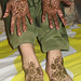 Mehnaz Bridal Mehndi Palms and Feet