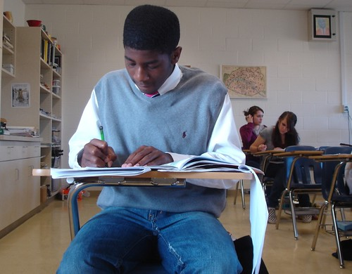 Semester exam time, Cmhs; Daniel McFarland by trudeau