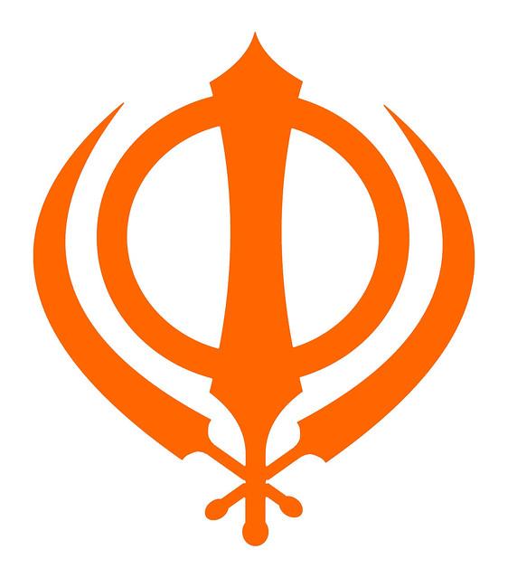 Sikh symbol - simple orange Khanda | Flickr - Photo Sharing!