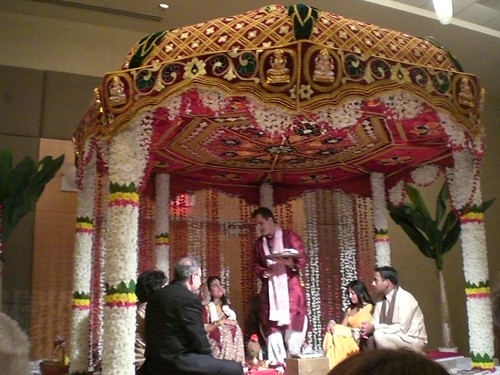 flowers wedding dylan pittsburgh priest 2008 surabhi mandap