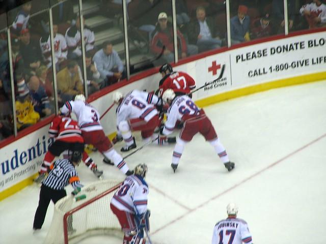 Devils vs. Rangers   Flickr - Photo Sharing!