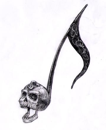 death note skull logo - photo #30