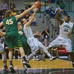 2014-03-08 -- NCAA men's basketball vs. St. Norbert