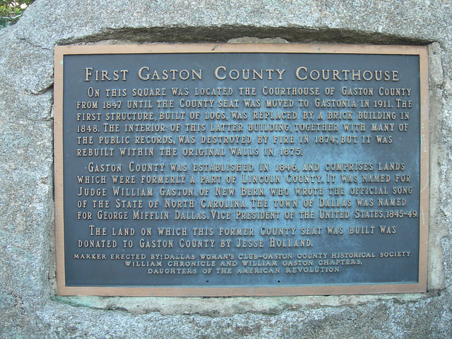 Gaston county court dates