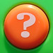 Orange Question Mark Button