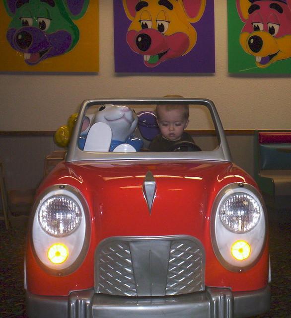 Stuart Little Is Letting Me Drive His Car. Sweet!