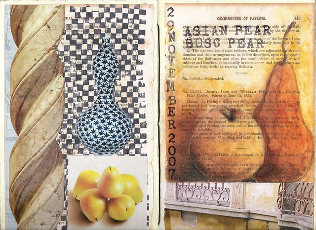 Asian Pear and Bosc Pear