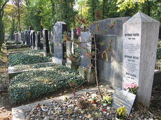 Imagen de Franz Kafka cerca de Hlavní město Praha. cemetery geotagged praha literature franz jewish kafka franzkafka literatura geotagging