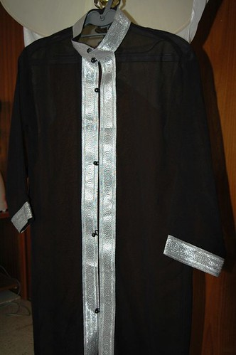 Arabic thin jacket