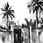 Dubai's Palm Trees