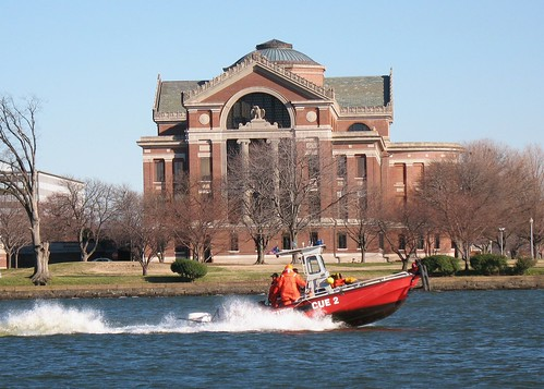 DC Fire Rescue Boat and Army War College