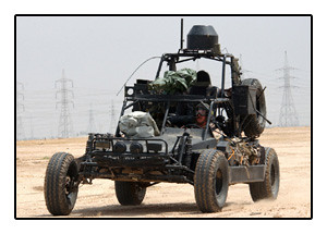 US ARMY Chenowth 'dune buggy' (FAV LSV DPV) 'Special Forces' Kuwait