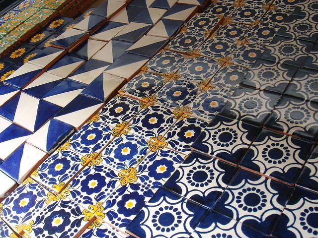 Azulejos en dolores hidalgo guanajuato m xico 2008 01974 for Azulejos mexico