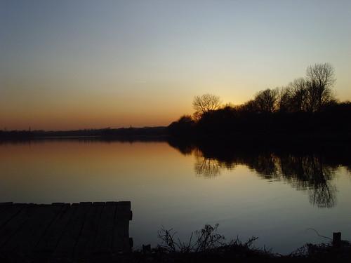 sunset lake lac couchédesoleil valenciennes soleilcouchant