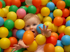 isabelle in ball pool