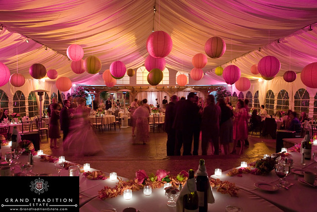 Tented wedding receptions a gallery on flickr for Asian wedding house decoration ideas