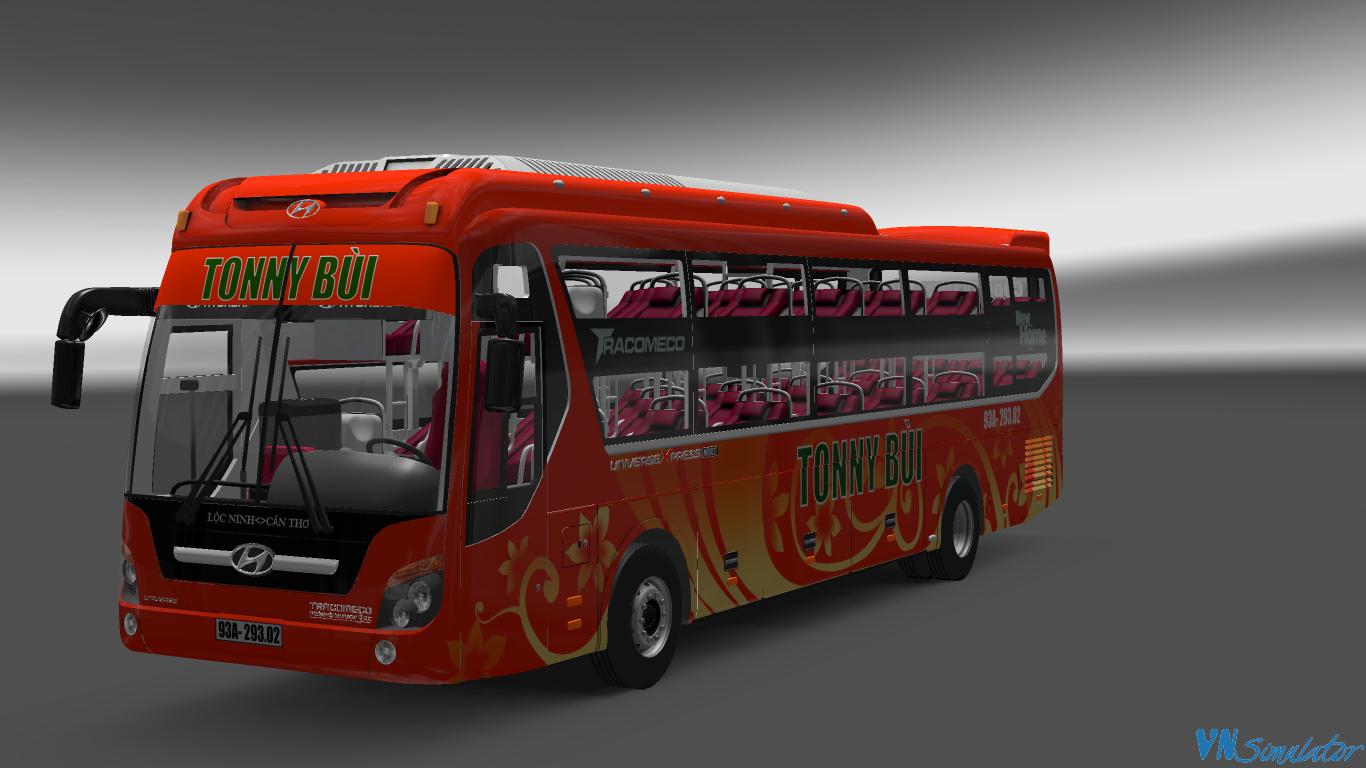 ALL - Tổng Hợp Skin Xe Bus Bus Hyundai Universe Tracomeco   Viet Nam