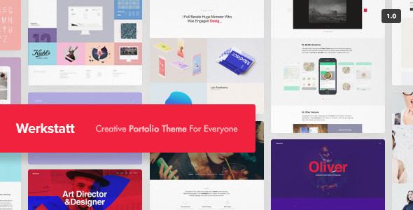 Werkstatt v2.0.3 - Creative Portfolio Theme