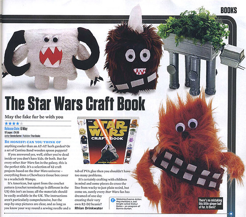 Star Wars Craft Book - SFX mag review