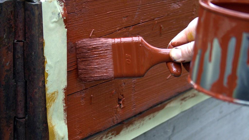 Urban Greening red paint job